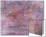 Cathedrals; Kathedralen Kunstdrucke von Paul Klee
