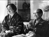 Soichiro Honda and Wife Sachi, Tokyo, Japan, 1967 Photographic Print by Takeyoshi Tanuma