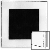 Black Square Print by Kasimir Malevich