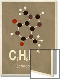 Molecule Chocolate Prints