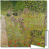 Orchard with Roses (Obstgarten Mit Rosen) Posters by Gustav Klimt