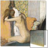 After the Bath, Woman Drying Her Neck, 1898 Prints by Edgar Degas