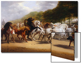 The Horse Fair Print by John Charles Maggs