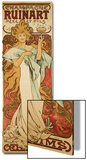Champagne Ruinart, 1896 Posters by Alphonse Mucha