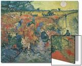 Red Vineyards at Arles, 1888 Posters by Vincent van Gogh