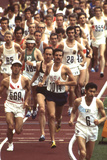 Frank Shorter in the Marathon at 1972 Summer Olympic Games in Munich, Germany Photographic Print by John Dominis