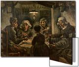 Les mangeurs de pommes de terre Posters par Vincent van Gogh