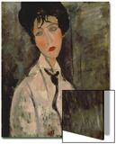 Femme à la cravate noire, 1917 Posters par Amedeo Modigliani