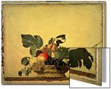 Basket with Fruit, circa 1596 Art by  Caravaggio