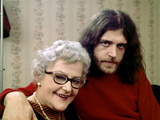 Joe Cocker with His Mother Marjorie. 1970 Photographic Print by John Olson