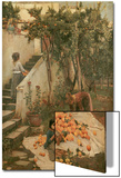The Orange Gatherers Poster von John William Waterhouse