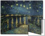 Starry Night over the Rhone, c.1888 Posters av Vincent van Gogh