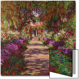 A Pathway in Monet's Garden, Giverny, 1902 Posters by Claude Monet