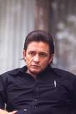 August 1969: Country and Western Singer Johnny Cash, Nashville, Tennessee Fotodruck von Michael Rougier