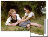 The Nut Gatherers, 1882 Prints by William Adolphe Bouguereau