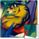 Le tigre, 1912 Affiches par Franz Marc