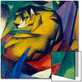 The Tiger, 1912 Prints by Franz Marc