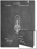 Thomas Edison Light Bulb Patent Posters