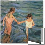 Children in the Sea, 1909 Posters by Joaquín Sorolla y Bastida