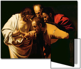 The Incredulity of St. Thomas, 1602-03 Poster by  Caravaggio