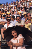 August 1960: Spectators at the 1960 Rome Olympic Summer Games Photographic Print by James Whitmore