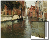 A Venetian Backwater Art by Fritz Thaulow