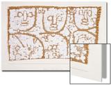 Three Figures Prints by Paul Klee