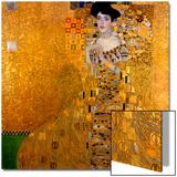 Adele Bloch-Bauer I, 1907 Kunstdruck von Gustav Klimt