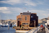 Two-Story, Wooden Floating Home, Sausalito, California, 1971 Photographic Print by Michael Rougier