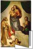 Madone Sixtine, peinte pour le pape Jules II comme cadeau à la ville de Piacenza, Italie, 1512-151 Posters par  Raphael