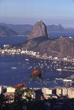 July 1973: Christ the Redeemer Statue, Rio De Janeiro, Brazil Fotografisk tryk af Alfred Eisenstaedt
