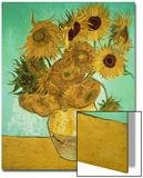 Les Tournesols, 1888 Poster par Vincent van Gogh
