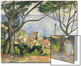 The Sea at L'Estaque, 1878 Posters by Paul Cézanne