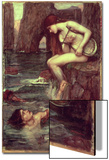 The Siren Prints by John William Waterhouse