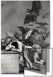 Le sommeil de la raison produit des monstres, tiré des «Caprices» Posters par Francisco de Goya