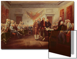 Signing the Declaration of Independence, 4th July 1776, C.1817 Posters by John Trumbull
