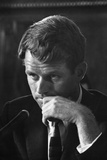 1957: Senator Robert F. Kennedy Attending a Labor Hearing in Washington, D.C Photographic Print by Ed Clark
