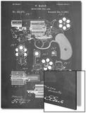 Revolver Firearm Patent Art