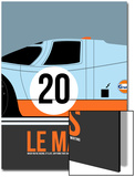 Le Mans Poster 2 Art by Anna Malkin