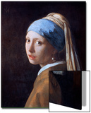 Girl with a Pearl Earring, C1665 Posters by Jan Vermeer