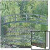 The Waterlily Pond: Green Harmony, 1899 Poster by Claude Monet