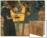 Music, 1895 Prints by Gustav Klimt