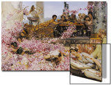 The Roses of Heliogabalus, 1888 Posters by Sir Lawrence Alma-Tadema