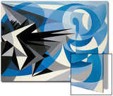 Pessimism and Optimism Prints by Giacomo Balla