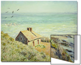 The Customs Hut, Morning, 1882 Posters by Claude Monet