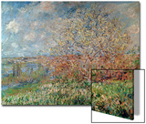 Spring, 1880-82 Art by Claude Monet