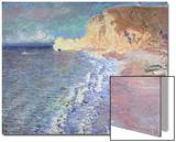 Morning at Etretat, 1883 Print by Claude Monet
