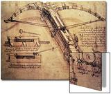 Giant Catapult, circa 1499 Posters by  Leonardo da Vinci