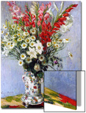 Vase of Flowers, 1878 Print by Claude Monet
