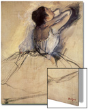 The Dancer, 1874 Art by Edgar Degas